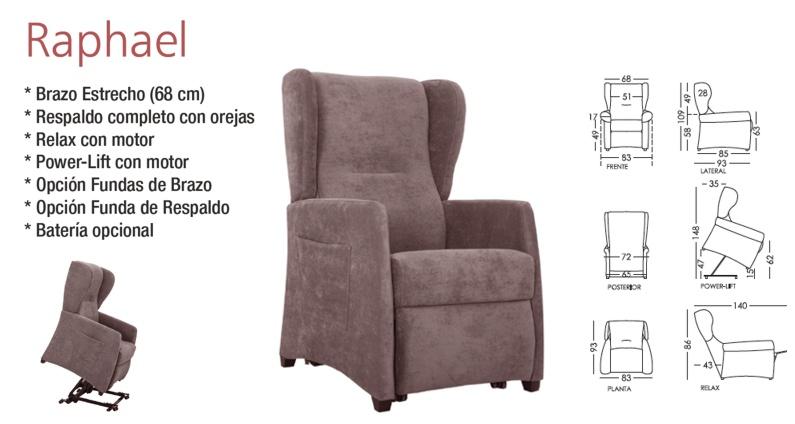 Raphael sillón relax Powerlift