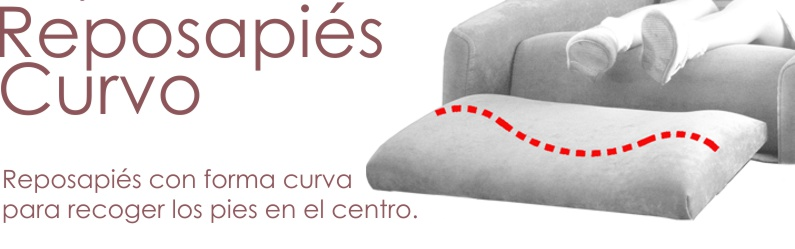 Reposapies curvo